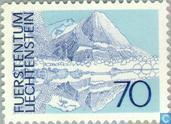 Briefmarken - Liechtenstein - Landschaften