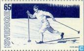 Postage Stamps - Sweden [SWE] - WORLD CUP Skiing