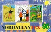 Postage Stamps - Faroe Islands - Nordatlantex ' 96