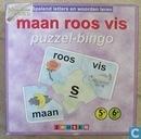 Maan Roos Vis Puzzel Bingo