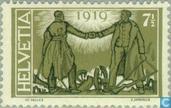Briefmarken - Schweiz [CHE] - Peace-Vertrag