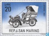 Briefmarken - San Marino - KFZ