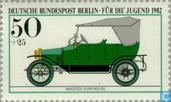 Postage Stamps - Berlin - Historic cars