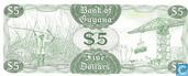 Billets de banque - Guyana - 1966-1992 ND Issue - Guyana 5 Dollars ND (1989)