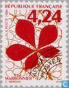 Postage Stamps - France [FRA] - Tree leaf
