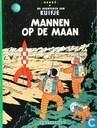 Strips - Kuifje - Mannen op de maan