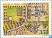 Briefmarken - Italien [ITA] - Landwirte Kultur