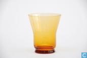 Verre / Cristal - Kristalunie - Libel Likeurglas amber