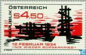 Postage Stamps - Austria [AUT] - No more war