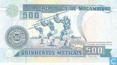 Billets de banque - República de Moçambique - Mozambique 500 meticais