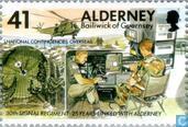 Timbres-poste - Aurigny - 30ième Signal Regiment