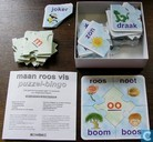 Board games - Lotto (plaatjes) - Maan Roos Vis Puzzel Bingo