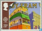 Timbres-poste - Grande-Bretagne [GBR] - Europe – Transports et communications