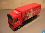 Model cars - Unknown - Mercedes-Benz Actros Coca-Cola