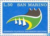 Timbres-poste - Saint-Marin - Fillateliedag