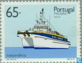 Postzegels - Madeira - Schepen van Madeira