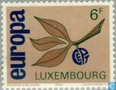Postage Stamps - Luxembourg - Europe – Twig and Fruit