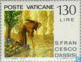 Postage Stamps - Vatican City - Francis of Assisi