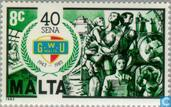 Postage Stamps - Malta - Union 50 years