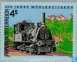 Briefmarken - Österreich [AUT] - 100 Jahre Mühlkreisbahn
