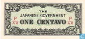 Bankbiljetten - The Japanese Government - Filipijnen 1 Centavo