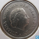 Coins - the Netherlands - Netherlands 25 cents 1968