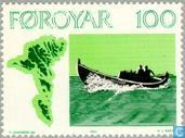 Postage Stamps - Faroe Islands - Fishing vessels