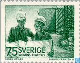 Postage Stamps - Sweden [SWE] - International Year of the Woman