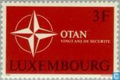 Postage Stamps - Luxembourg - NATO 20 years
