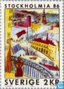 Briefmarken - Schweden [SWE] - Stockholmia 86 (III)