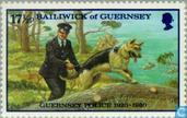 Timbres-poste - Guernesey - Police 60 années