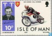 Postage Stamps - Man - TT Races