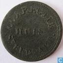 1 cent 1823 Correctiehuis St. Bernard