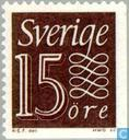 Postage Stamps - Sweden [SWE] - 15 Brown