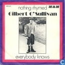 Disques vinyl et CD - O'Sullivan, Gilbert - Nothing rhymed