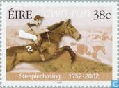 Postzegels - Ierland - Steeplechase