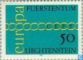Postage Stamps - Liechtenstein - Europe – Rings