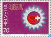 Postage Stamps - Switzerland [CHE] - Int. Gasunie 50 years