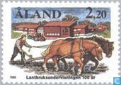 Postage Stamps - Åland Islands [ALA] - 100 years of agricultural education