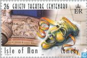 Timbres-poste - Man - 100 jaar Gaiety theatre