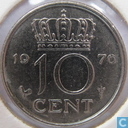 Coins - the Netherlands - Netherlands 10 cents 1976