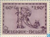 Briefmarken - Belgien [BEL] - Fünfte Orval