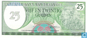 Banknotes - Suriname - 1982-1985 Issue - Suriname 25 Gulden 1985