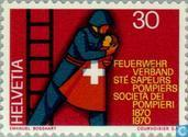 Postage Stamps - Switzerland [CHE] - Swiss Federal fire 100 years
