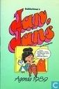 Bandes dessinées - Jean, Jeanne et les enfants - Dobbelman's Jan, Jans agenda 1989