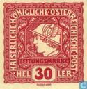 Postzegels - Oostenrijk [AUT] - Mercurius