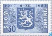 Postage Stamps - Finland - 40 jaar onafhankelijkheid