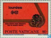 Postage Stamps - Vatican City - Eucharistic World Lourdes