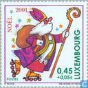 Timbres-poste - Luxembourg - Noël