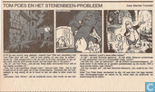 Comic Books - Bumble and Tom Puss - Tom Poes en het stenenbeen-probleem